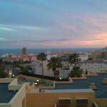 Los Cristianos at sunset
