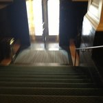 Front door with stairs at William Penn Omni