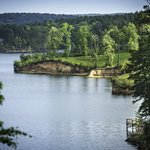 View of Toledo Bend Lake.
