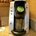 Guestroom amenities Keurig coffee maker