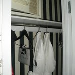 Closet with safe and robes - Room 78