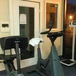 Near the Sauna in Fitness Center (which was out of order)