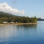 Aroha Taveuni situated on the coastline of Somosomo Strait