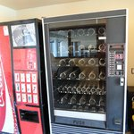 Empty vending machines