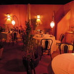 La Table Al Badia - Riad Al Badia by night