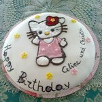 Torta Hello Kitty per Celine