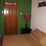 Standard Double Room with attached bath, 24-hour hot water, air conditioner, high speed wi fi, c