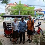 Our hotel tuk tuk driver, goes above and beyond