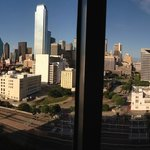 Amazing view of Dallas skyline