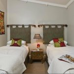 Twin en suite room - let the warmth and calm envelop you