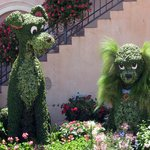 Great topiary place throughout the park