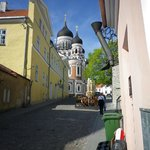 Another cobbled street in Tallinn 2013