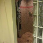 Big walk-in shower