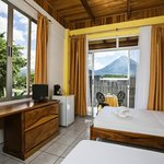 rooms with volcano view
