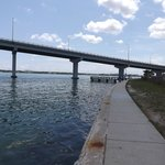 Bridge from Clearwater Beach to Sand Key Island