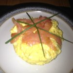 Ian's Scrambled Eggs with Smoked Salmon and CHives