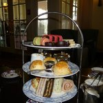High tea in the Empress Tea Room
