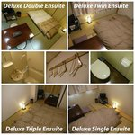 Ensuite Twin/Double/Triple Rooms