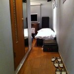bedroom for 3 persons - view from entrance