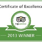 Certificate of Excellence Winner