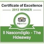 Proud to have been awarded Trip Advisor Certificate of Excellence 2013