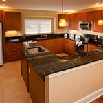 Kitchen in all townhomes at Damai Resort Orlando