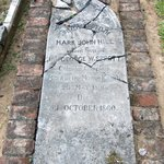 Mark Hill's grave - he died at five months