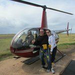 Open-door Helicopter Tour Close to B&B