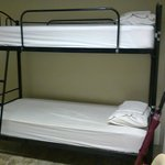 clean bunks with fresh linen