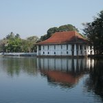 The Bath House on Kandy Lake