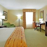 King Bed Guest Room Holiday Inn Shreveport West