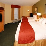 Deluxe Two Queen Guest Room