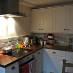 The kitchen in Pippin Cottage