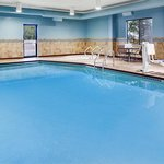 Go for a swim in our heated pool!