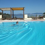 Swimming in Skiathos