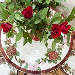 french table roses