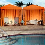Spa Botanica Outdoor Cabanas