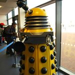 Dalek welcome