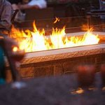 Stone Arch Bar - Patio Fire Pit