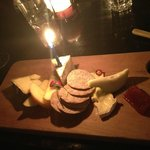 Birthday cheese plate!