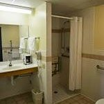 Handicap Room Bathroom