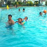 In the Pool.....