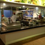Open Kitchen at Fisherman's Cove Restaurant