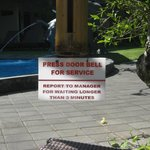 pool service, no pool bar but just as great!!