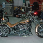 Customised motor bikes