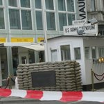 Checkpoint Charlie without the guards!!