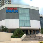 The Digicel Imax theater in Port of Spainption here