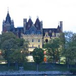 Boldt Castle at dusk