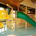 Kids play structure in Pool area