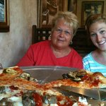 Linda , Alexi and our Great Pizza